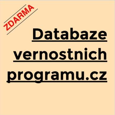 Databáze věrnostních programů